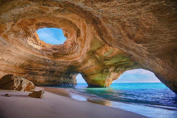 Marine cave of Benagil Algarve