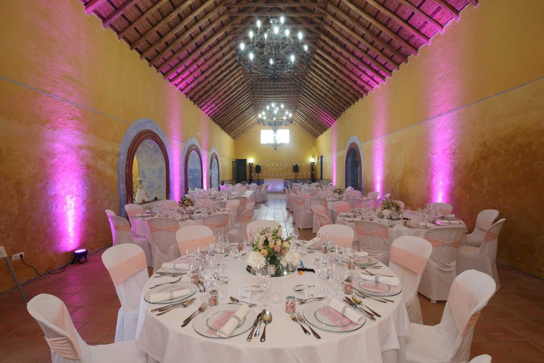 événements : Mariage dans la salle de Gala Lagar de Azeite