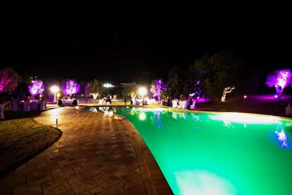événements : mariage piscine jardin