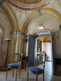 Private chapel on the fist floor of the Manor House