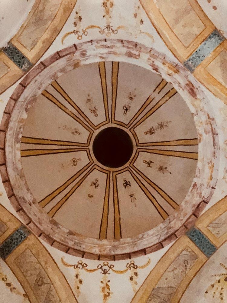 Chapel cupola paintings