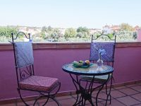 Double room private terrace