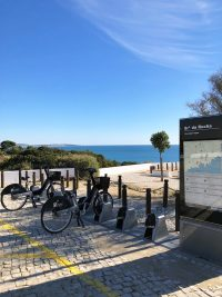 Bike rental at Senhora da Rocha beach