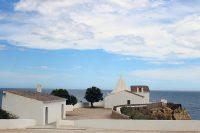 White chapel of Senhora da Rocha