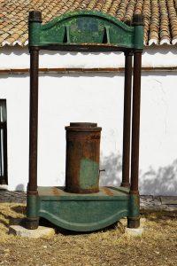 Olive fabric historic equipment