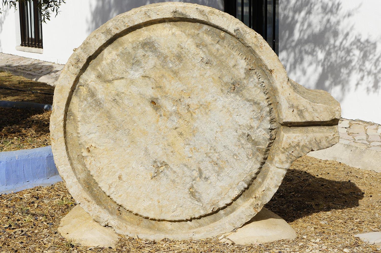 Olive oil Press Stone